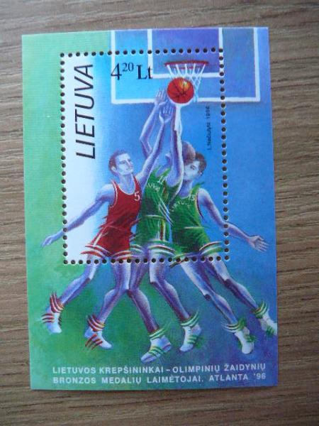 Lietuva 1996 Krepsinis svarus