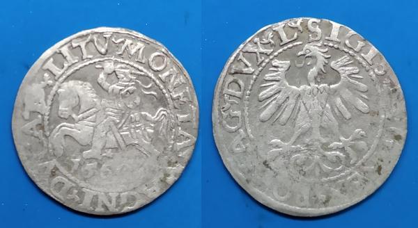 LDK - Ž.Augusto 1560 m. pusgrašis